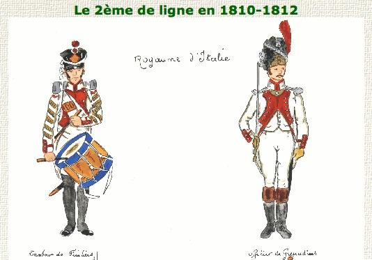 Italian 2nd Line Infantry Drummer