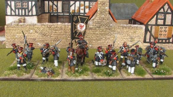 3-4 East Prussian Landwehr - front